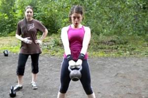 Funkční trénink - Martina