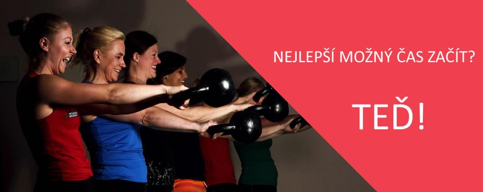 Funkční trénink Praha - silový a kondiční trénink pro ženy